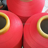 2015 New Product spandex covered yarn Soft ,polyester covered yarn
