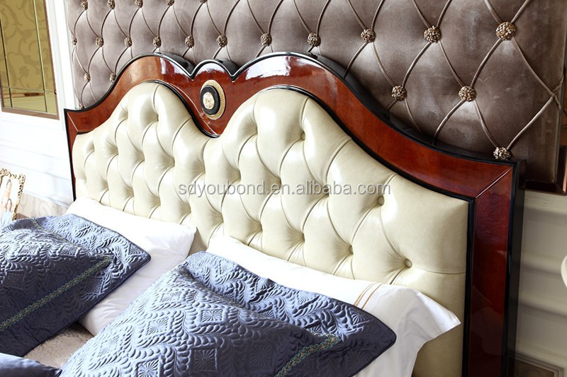 2016 YB new collection 0068 European classical wooden bedroom set for home/ hotel or showroom