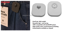 Mini square electronic hard tag & EAS security tag for clothing stores