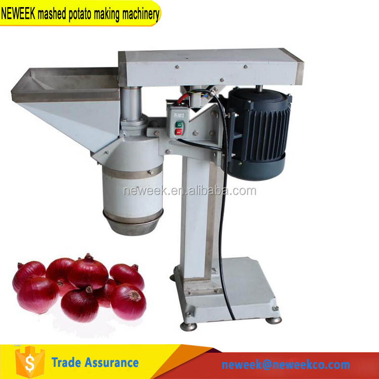 NEWEEK best price electric home used mini mashed potato making machinery
