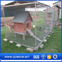 qunkun anping Temporary Construction Chain Link Fence/ Chain Link Fence Panels/ Galvanized Chain Link Fence