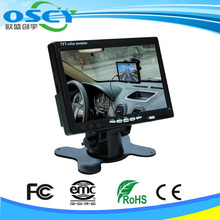 cheap 7 inch TFT LCD car stand alone monitor in car monitors