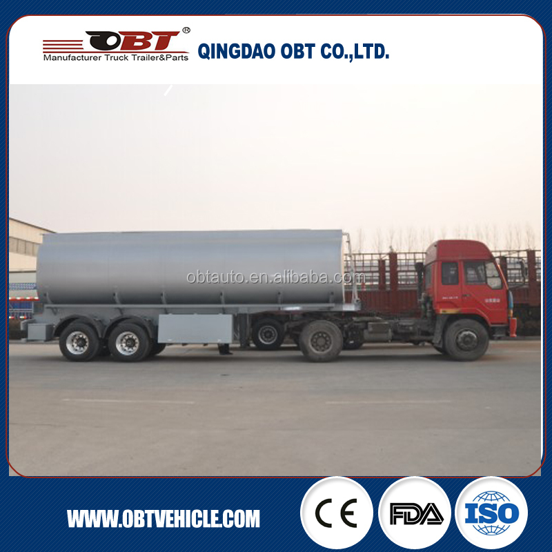 Via Australia certificate water tank and olive oil tank trailer