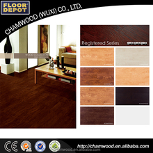 Hot-sale high quality waterproof interlocking pvc vinyl flooring plank