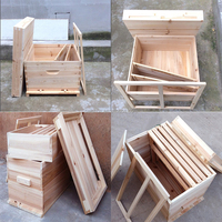 European Style Lanstroth Bee Hive Can Be Customized To Export Different Size
