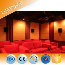 Eco-friendly Fabric Sound absorbing acoustic foam fiberglass insulation soundproofing panel for decoration