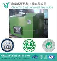 100KG/day capacity kitchen food waste composting machine