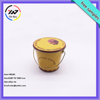 China factory for promotion, for packaging small metal bucket with lid
