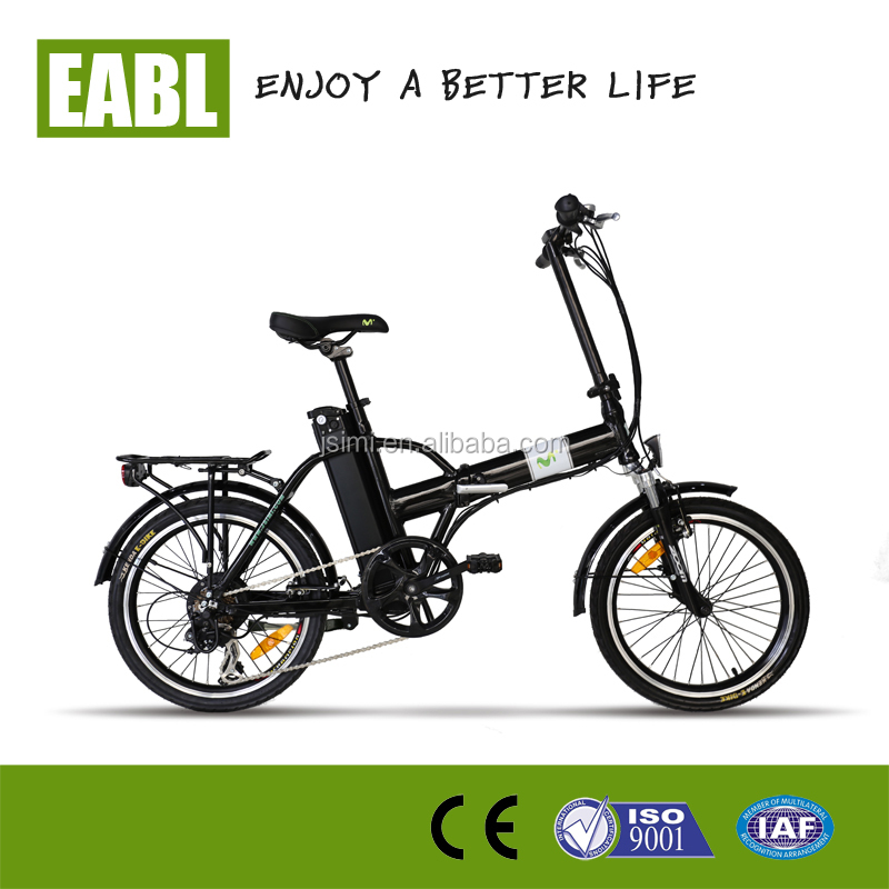 Super long range folding impossible electric bike
