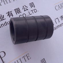high temperature resistanc mirror-polished guide bush graphite bearing for cold and hot water pumps