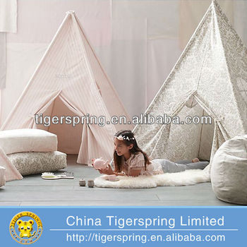 large kids play tents made of cloth