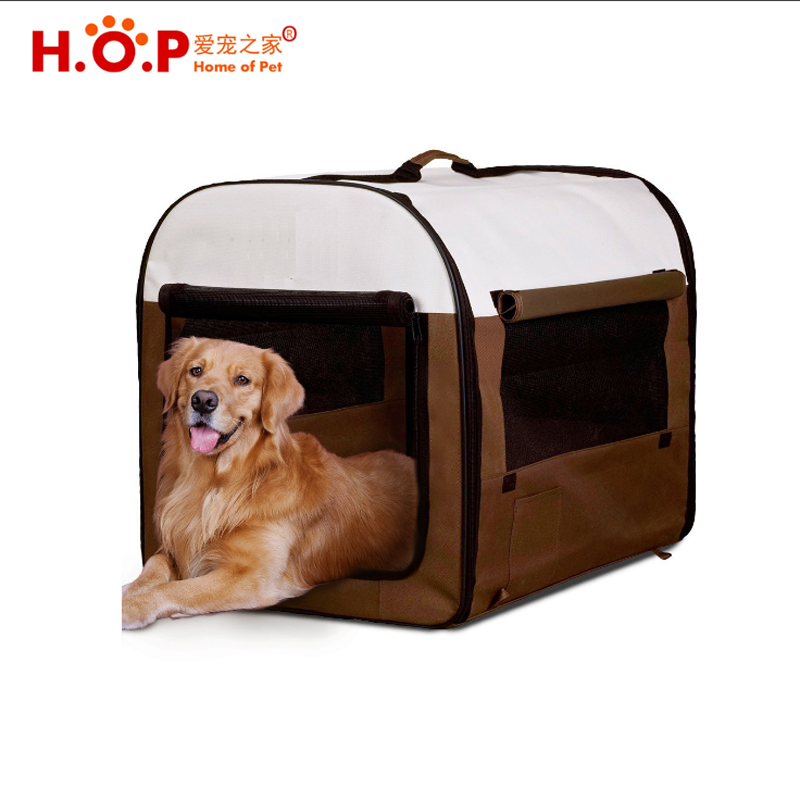 Folding Soft Dog Crate Pet Kennel Houses Pens Indoor & Outdoor Pet Tent