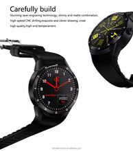 New MT6572A Dual core 1.2G 512M + 4G Memrory Android Smart Watch Phone With Sim Card 3G WIFI GPS Heart Rate monitor SmartWatch