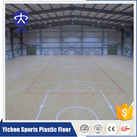 New Condition synthetic tennis court /basketball flooring