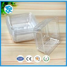 Food Grade Rectangle Plastic Blister Packing Bread Trays For Sale
