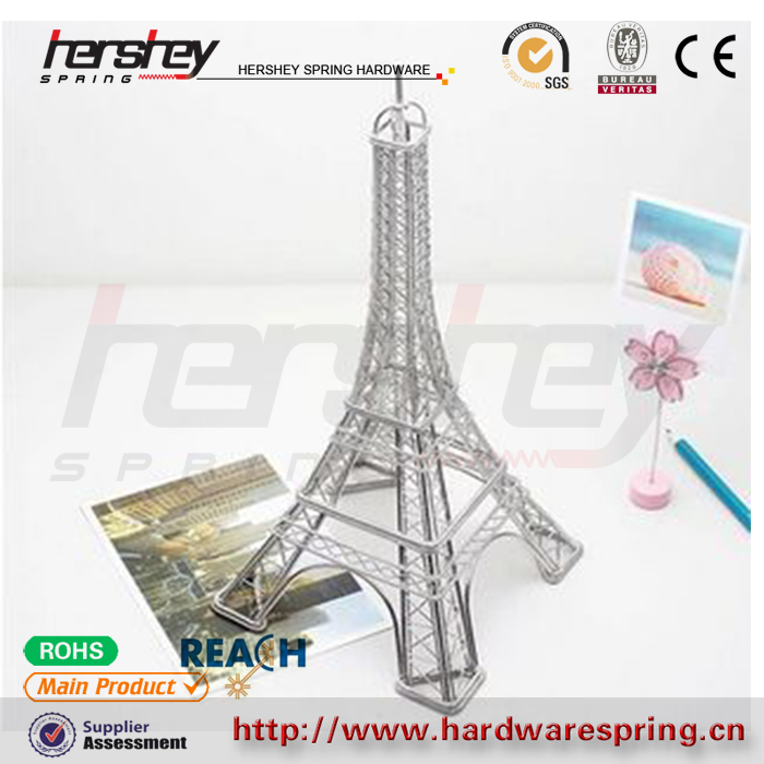 Customize high quality stainless steel material welding art and crafts