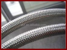 China professional factory! hot sale steel stainless wire braided ptfe teflon hose