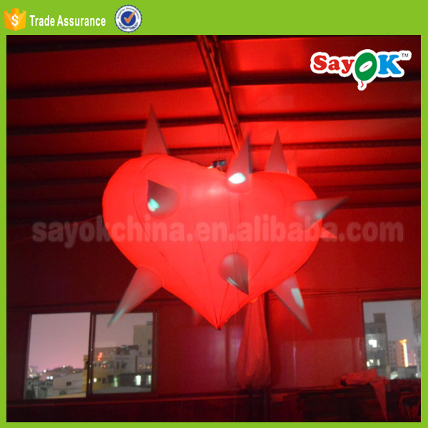 giant advertising led lighted inflatable lips inflatable red lip sale