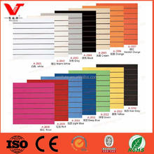 wholesale melamine laminated mdf slatwall panels for retail store