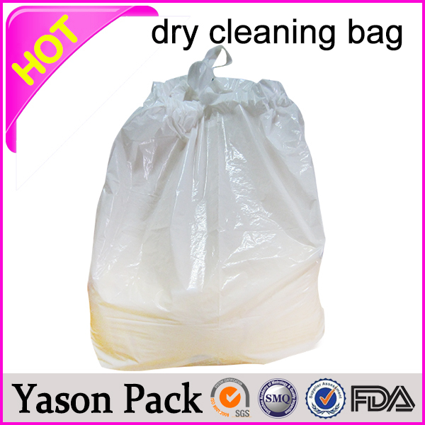 Yasonpack dry cleaning poly bags laundry detergent packaging laundry poly bag