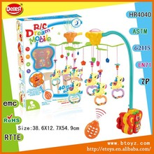 Baby Crib Musical Mobile Hanger With Light