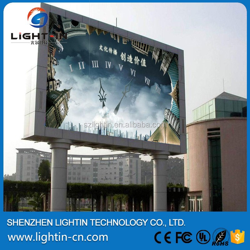 Advertising / Stage 3in1 Full Color P8 DIP Outdoor LED Display