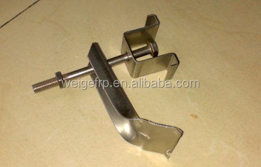 FRP Molded Grating Metal Clamp