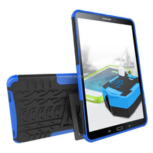 square stand cover for samsung galaxy Tab A 10.1 T580,pc tpu case for samsung T580