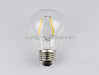 A60 A19 carbon filament led bulb 5w dimmable replace 50w halogen bulb carbon filament bulb