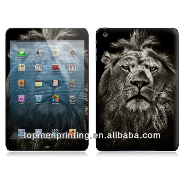 You are handsome lion powerful symbol adhesive color skin for ipad mini sticker decal