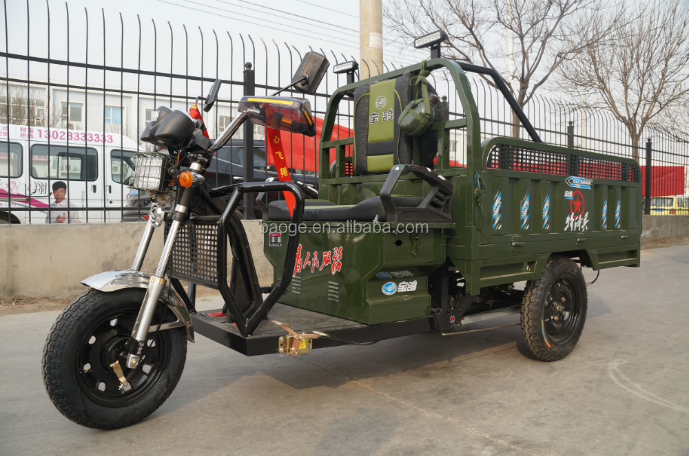 China Hot sale Electric open body tricycle for cargo