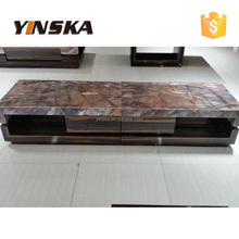 marble tv stand, modern high quality home furniture TV showcase