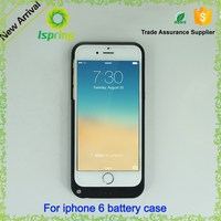 Plastic rohs battery case for iphone5, For iphone 6 case with battery