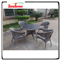 Shinygarden 5 Piece Set All Weather Outdoor Patio Garden Furniture