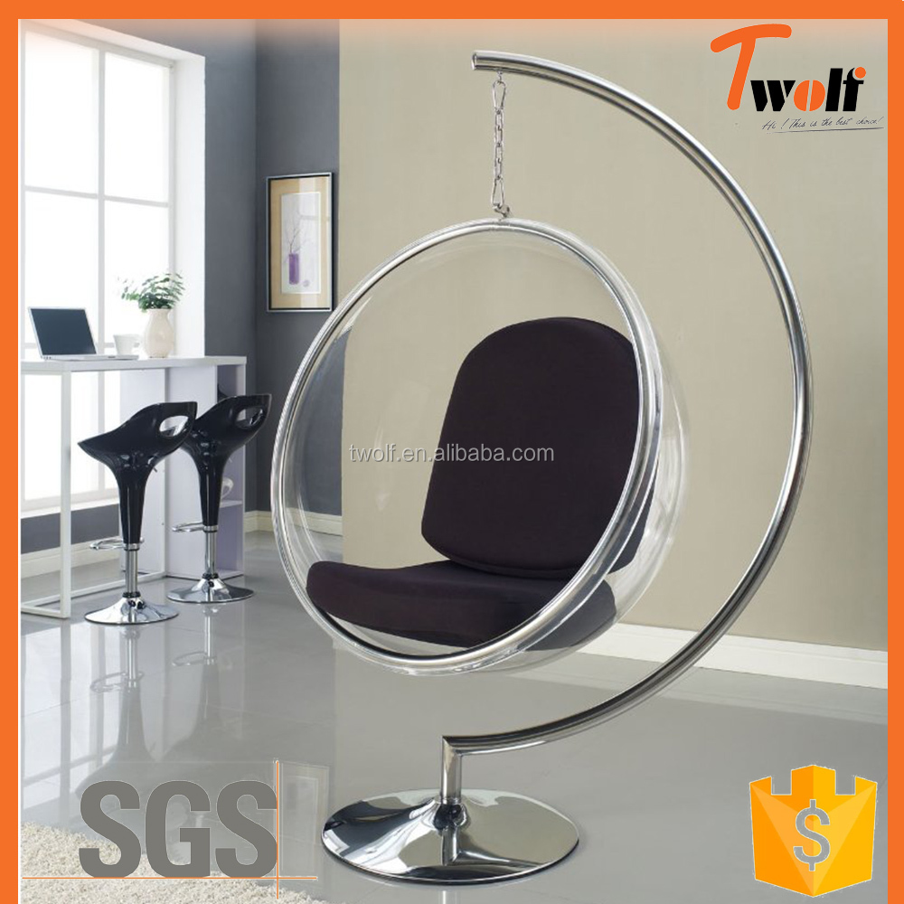Uncategorized Clear Hanging Bubble Chair wholesale color acrylic furniture online buy best clear hanging chair bubble