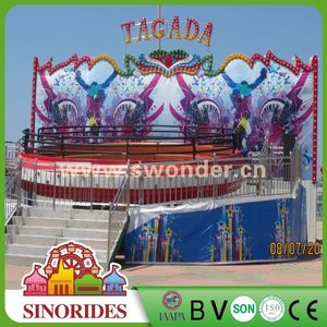 Attractive rotating turntable tagada rides amusement mega disk'o,mega disk'o