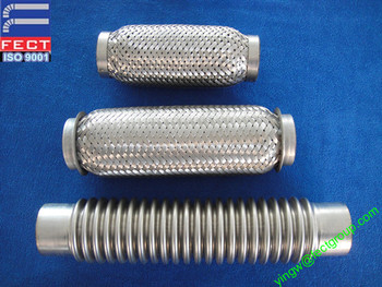 flexible exhaust pipe for generator/stainless steel flexible exhaust pipe/automotive exhaust hose