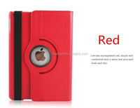 Buy direct from china Litchi Texture Flip Leather Rotating Case with Holder case for ipad air 2 made in china