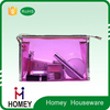 Carry on clear travel toiletry Bag , transparent cosmetic Bag with zipper