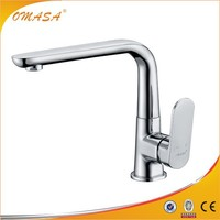Drinking water vinyl wrap kitchen cabinet faucet