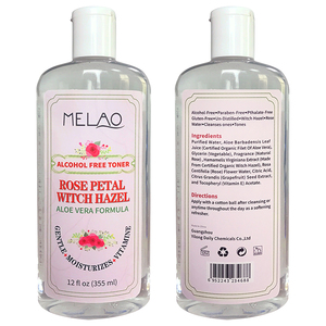 Best Face Skin Rose flower water whitening and firming rose petal whitch hazel Toner