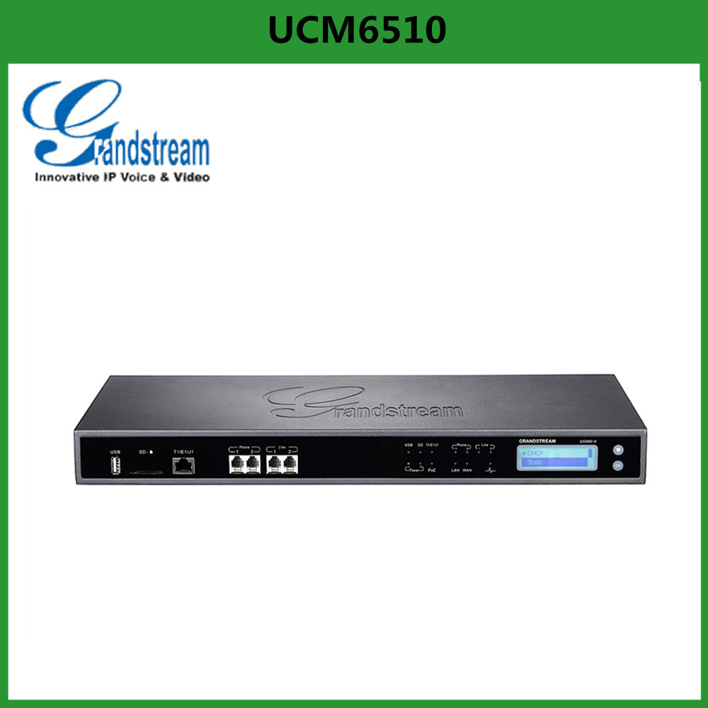 Grandstream UCM6510 PSTN analog telephone IP PBX