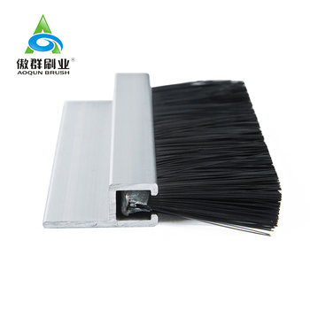 Nylon Door Weather Nylon Seal Strip Brush