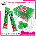 Watermelon bubble gum with jelly filled