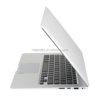 13.3inch Aluminium laptop notebook computer 4GB ram and 128GB SSD 7000mAh battery Intel I7 WIFI bluetooth