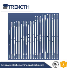 STRENGTH Narrow Width Fabric Loom Flat Steel heald wire