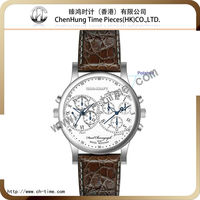Genuine leather bracelet big men swiss legend sports watch for men manufacturer