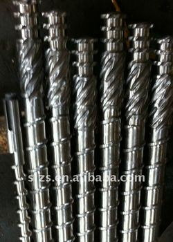 Barrel and Screw for Extruding Machine