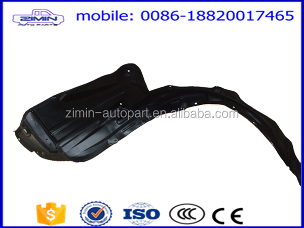Auto spare parts & car accessories & car body parts front inner fender lining for toyota hilux 2012