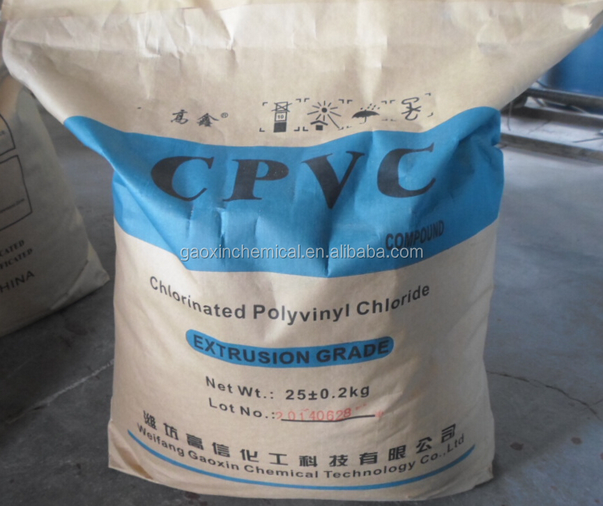 CPVC <strong>resin</strong> for pipe grade